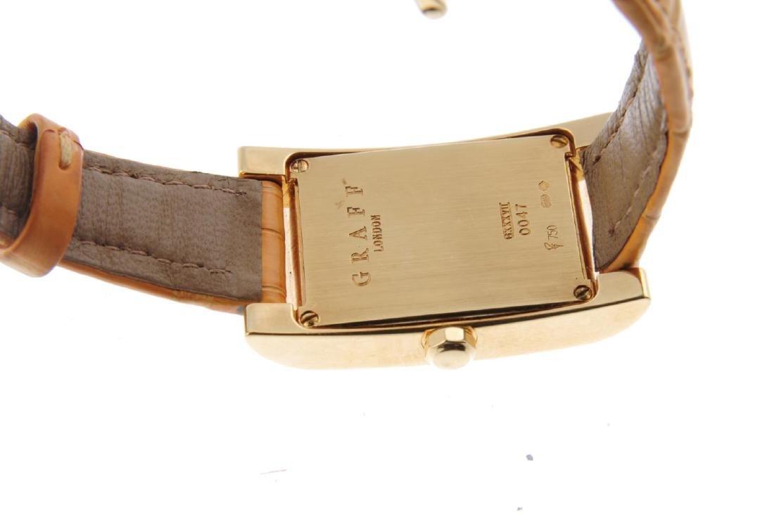 GRAFF - a lady's wrist watch. 18ct yellow gold case. - 3