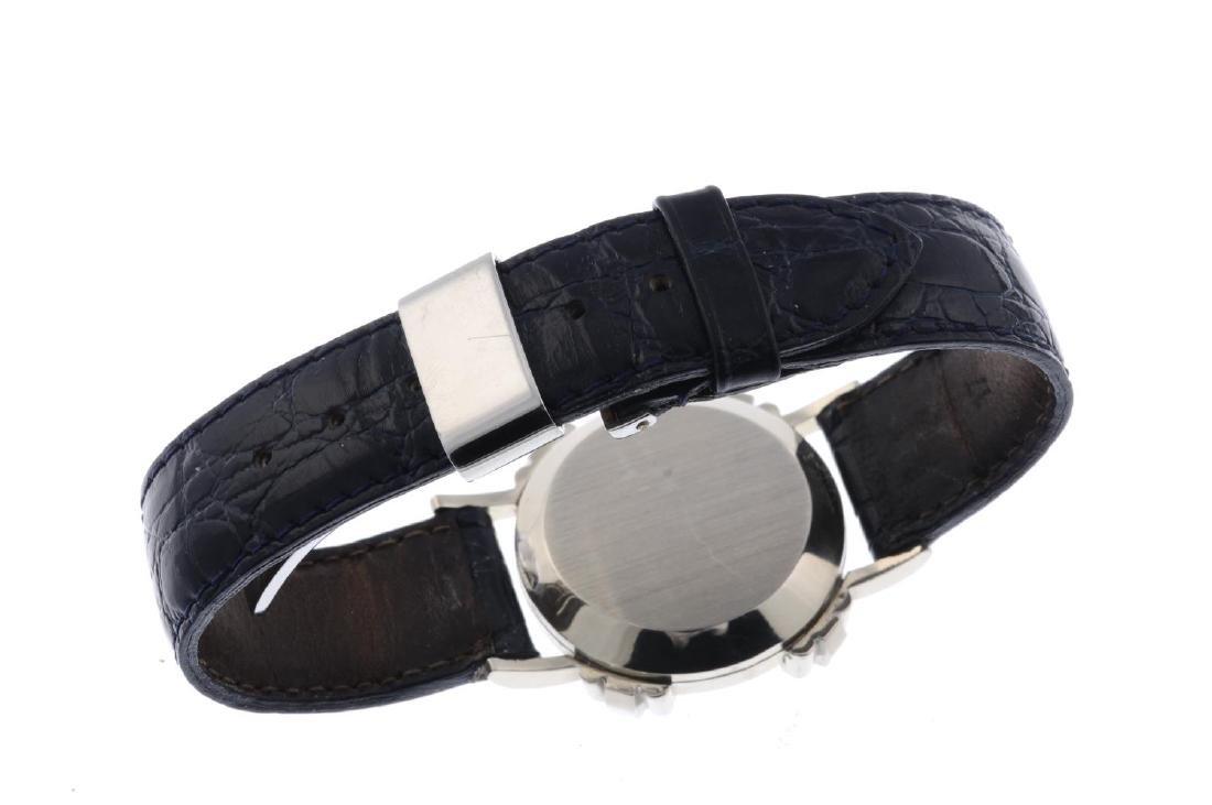 GRUEN - a lady's wrist watch. White metal case, stamped - 3