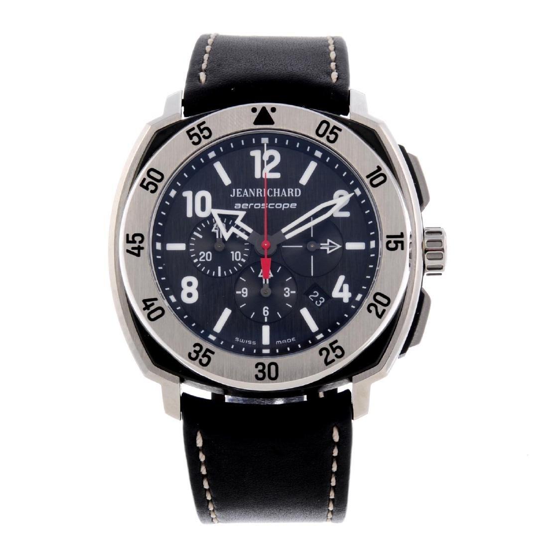 JEANRICHARD - a gentleman's Aeroscope chronograph wrist
