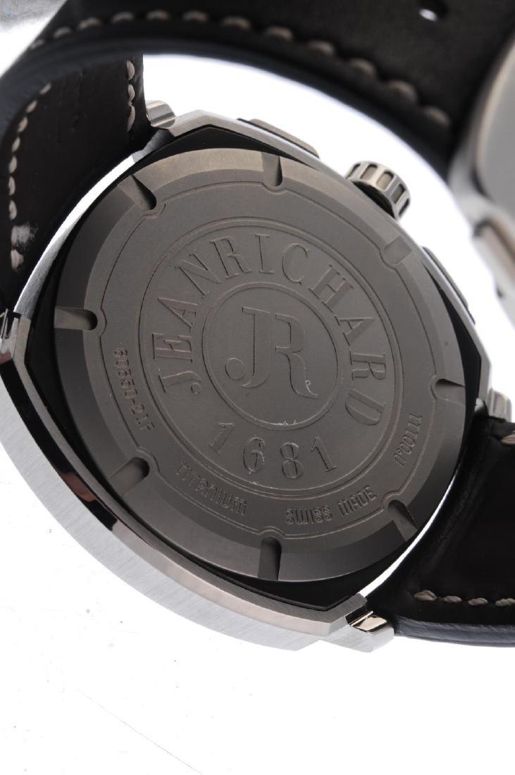 JEANRICHARD - a gentleman's Aeroscope chronograph wrist - 3