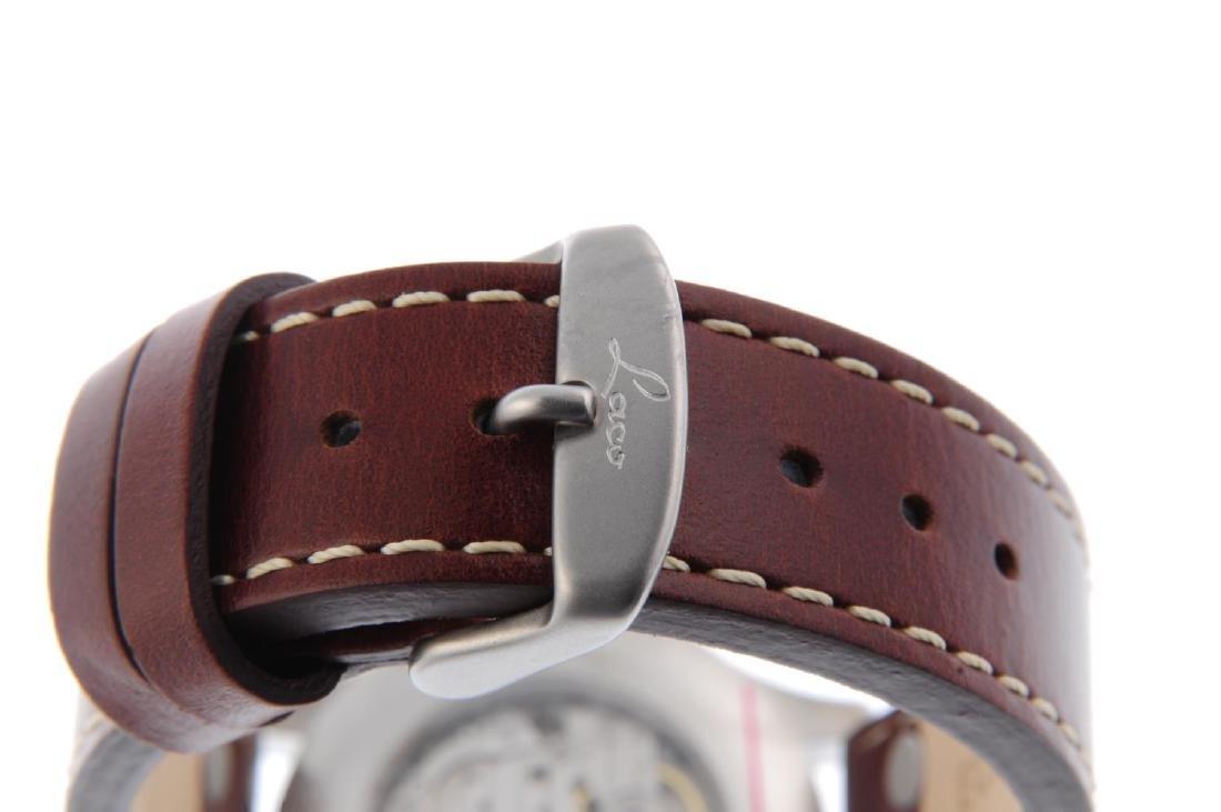 LACO - a gentleman's Aachen 39 wrist watch. Stainless - 2