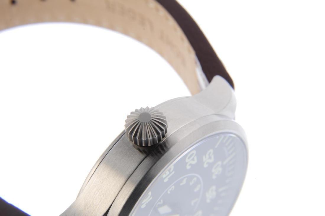 LACO - a gentleman's Aachen 39 wrist watch. Stainless - 4