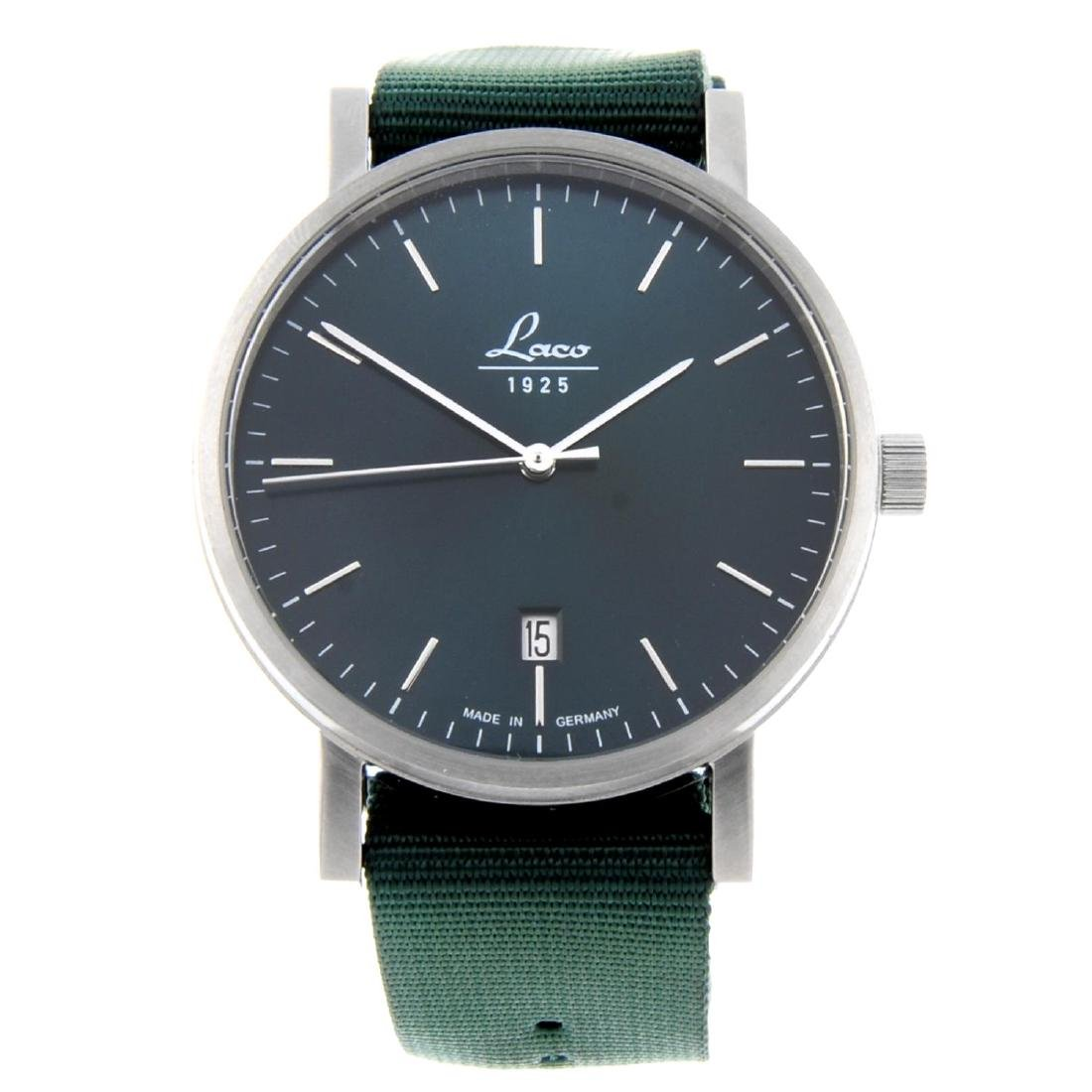 LACO - a gentleman's Classic Petrol 40 wrist watch.