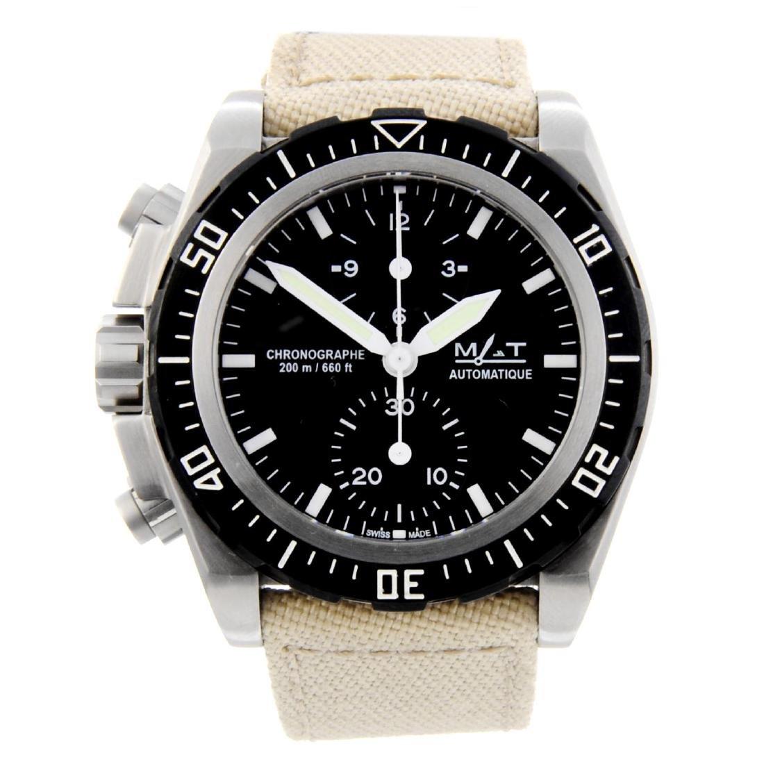 MAT - a gentleman's Aviation chronograph wrist watch.