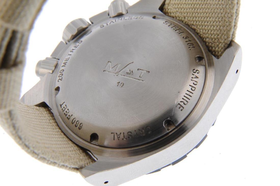 MAT - a gentleman's Aviation chronograph wrist watch. - 3