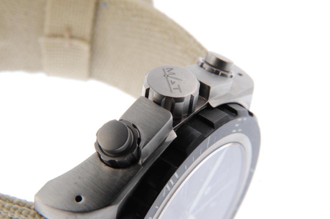 MAT - a gentleman's Aviation chronograph wrist watch. - 4