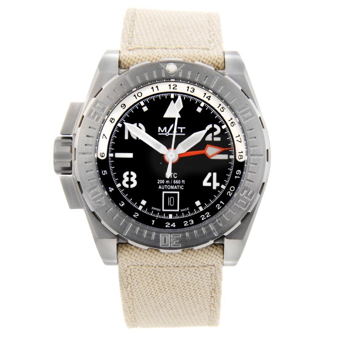 MAT - a limited edition gentleman's UTC Pilot wrist