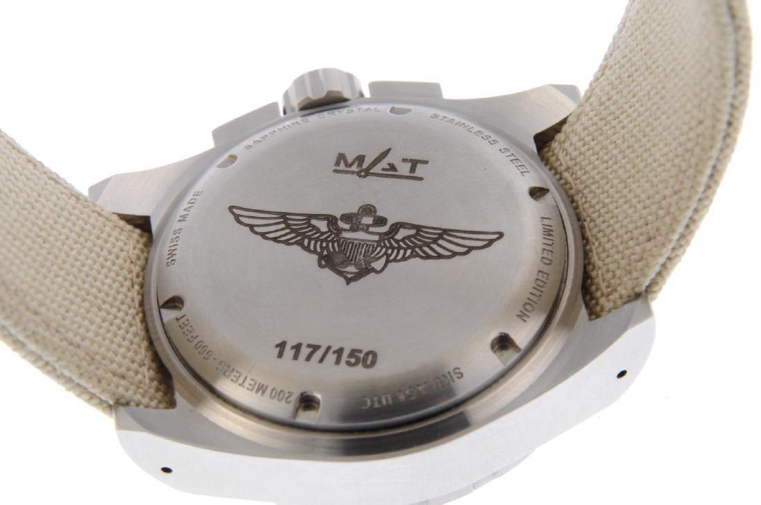 MAT - a limited edition gentleman's UTC Pilot wrist - 3
