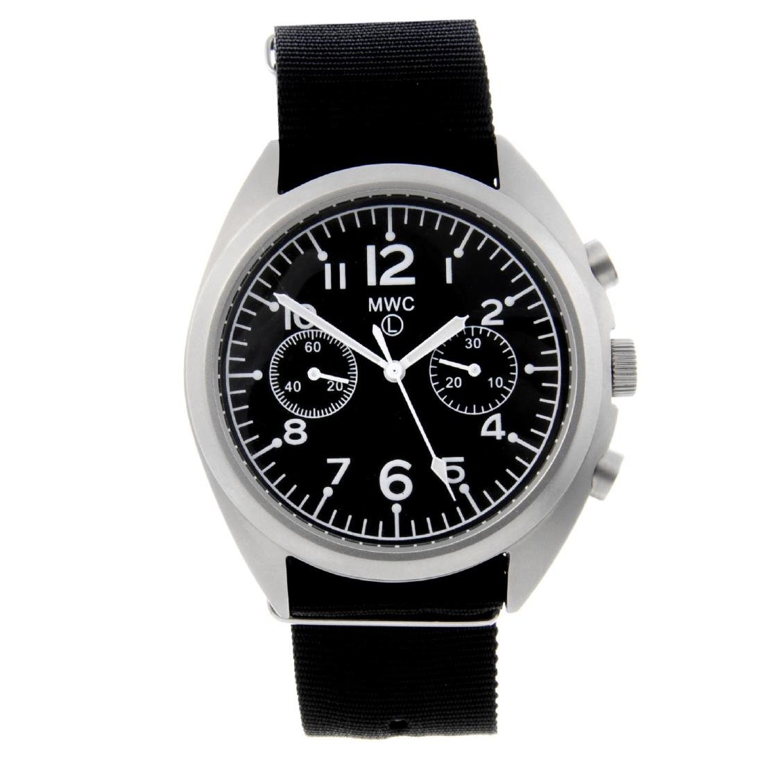MWC - a gentleman's chronograph wrist watch. Stainless