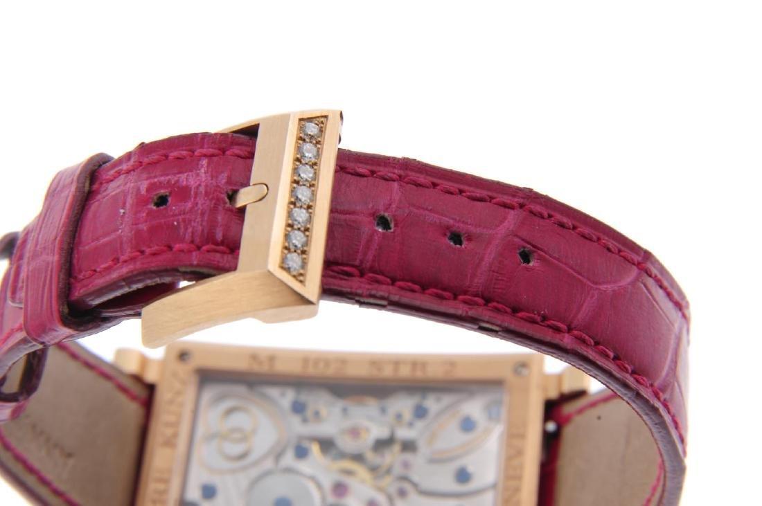 PIERRE KUNZ - a lady's Cupidon Tri-Retrograde wrist - 2