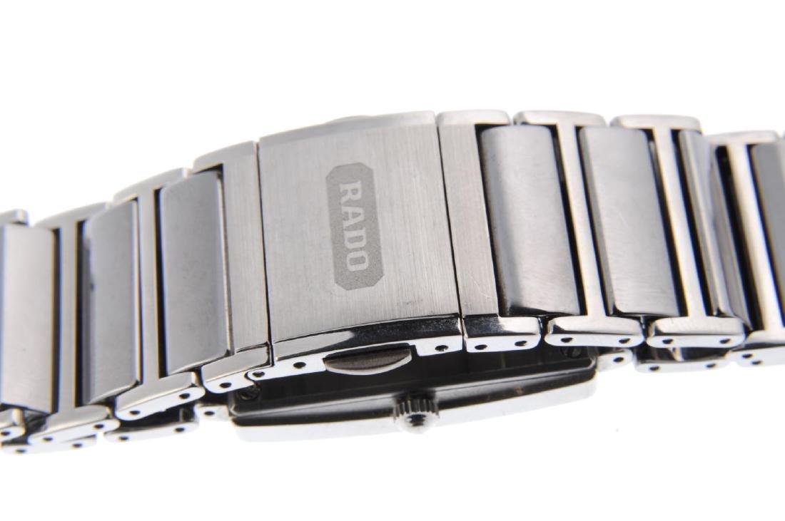 RADO - a mid-size DiaStar bracelet watch. Ceramic - 2