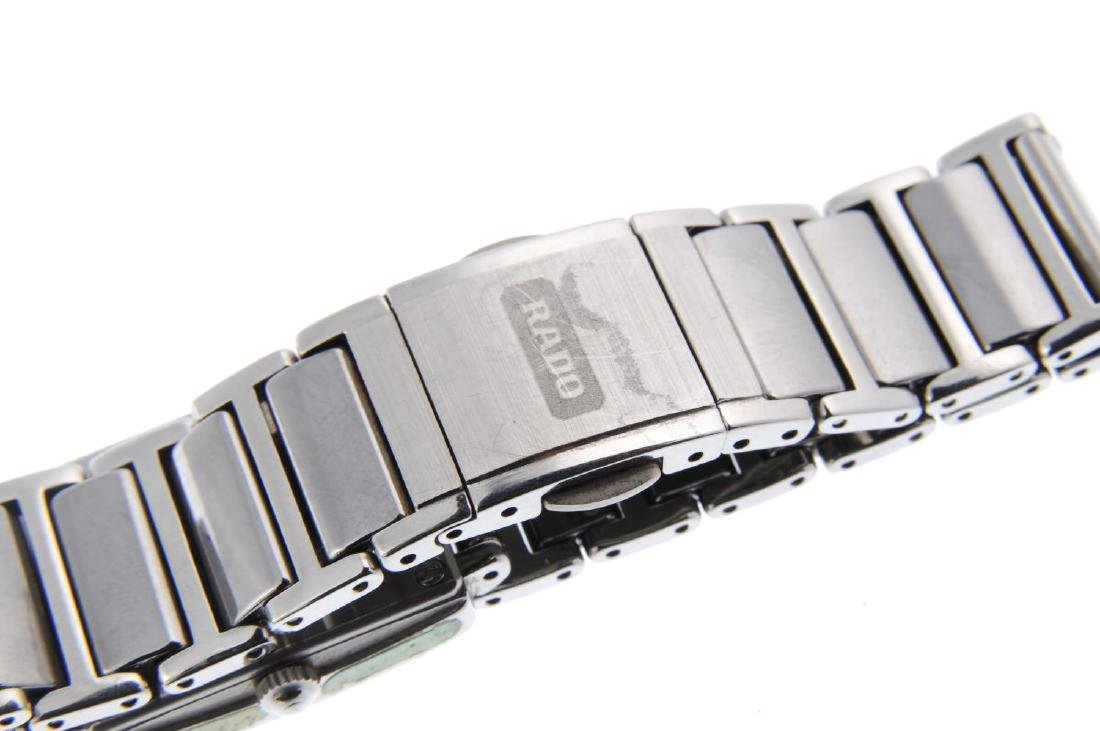 RADO - a lady's DiaStar bracelet watch. Factory diamond - 2