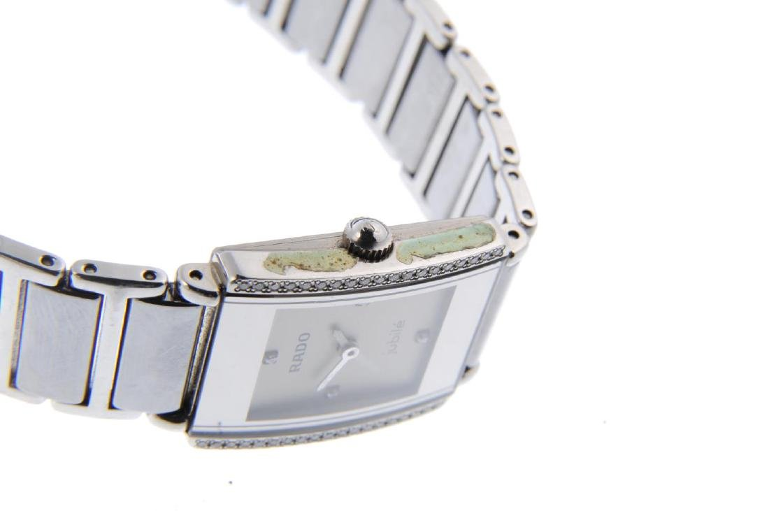 RADO - a lady's DiaStar bracelet watch. Factory diamond - 4