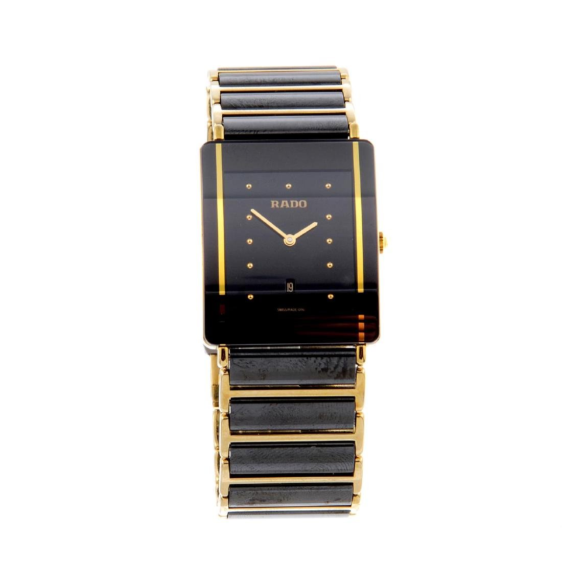 RADO - a gentleman's DiaStar bracelet watch. Gold