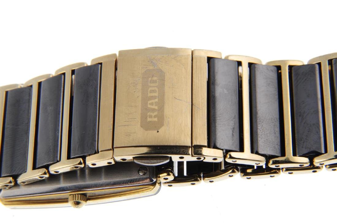 RADO - a gentleman's DiaStar bracelet watch. Gold - 2