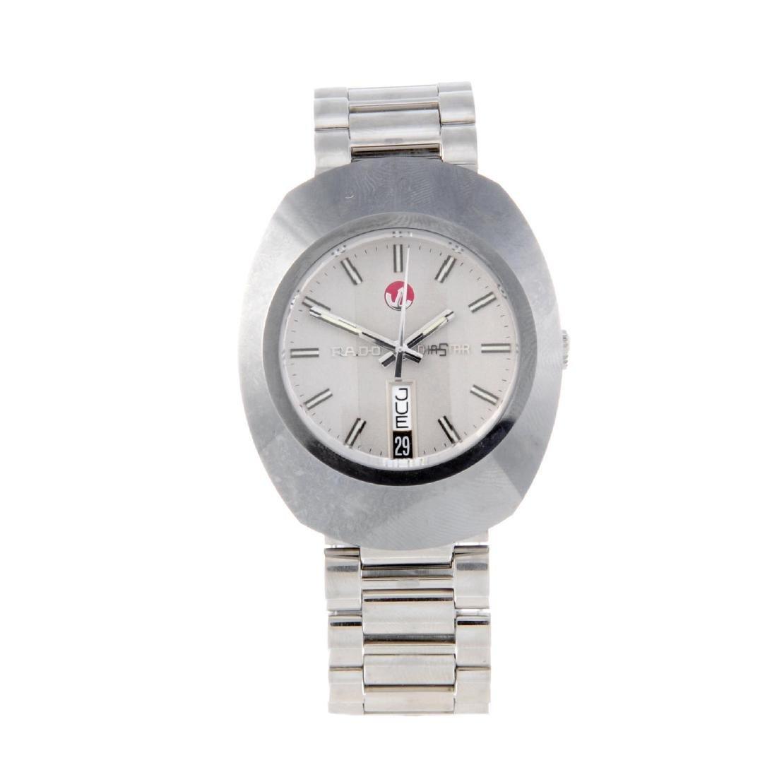 RADO - a gentleman's DiaStar bracelet watch.
