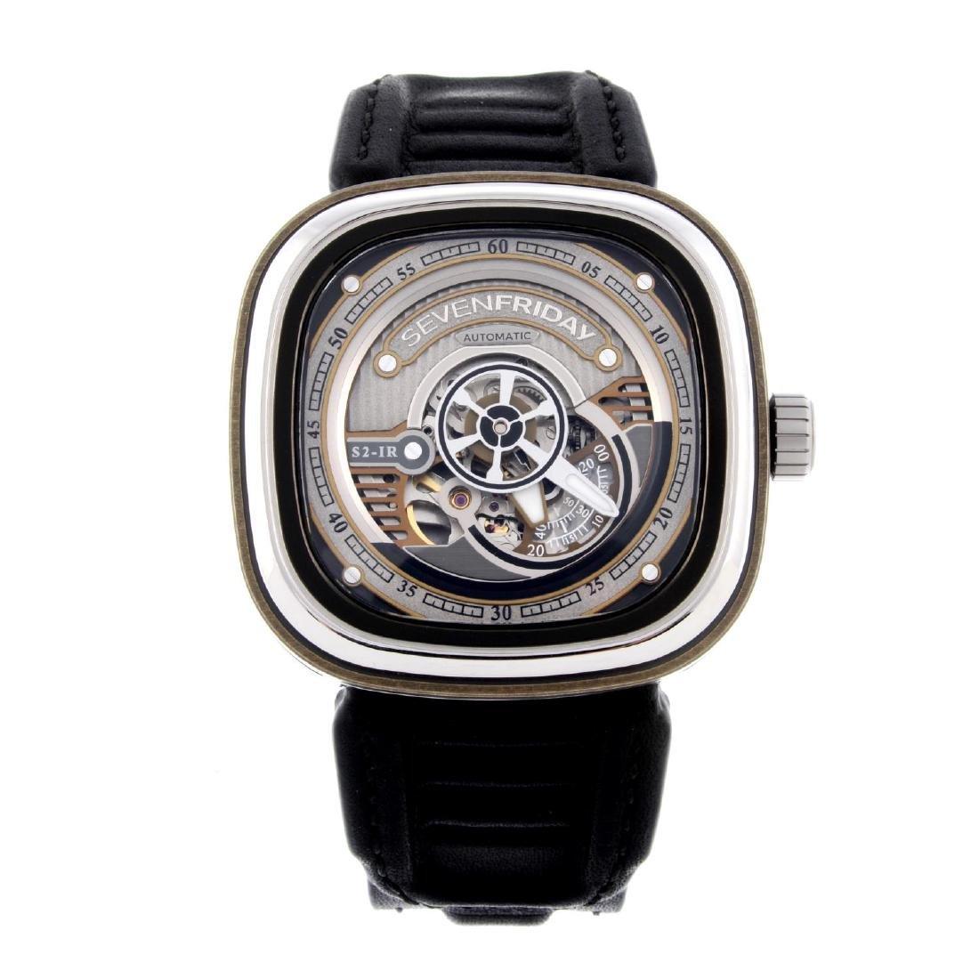 SEVENFRIDAY - a gentleman's S2-IR wrist watch.