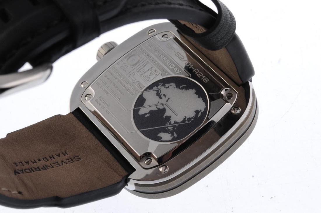 SEVENFRIDAY - a gentleman's S2-IR wrist watch. - 3