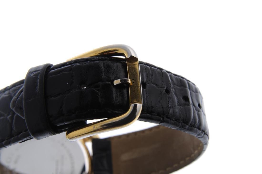 TISSOT - a gentleman's wrist watch. Gold plated case - 2