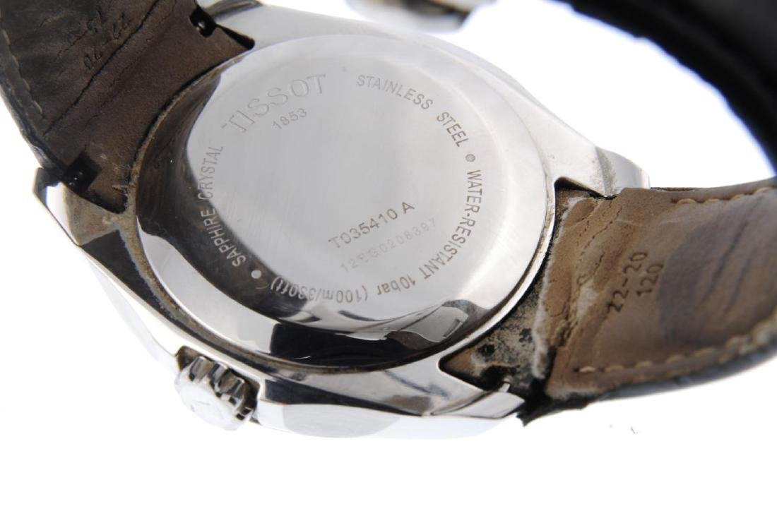 TISSOT - a gentleman's Couturier wrist watch. Stainless - 3