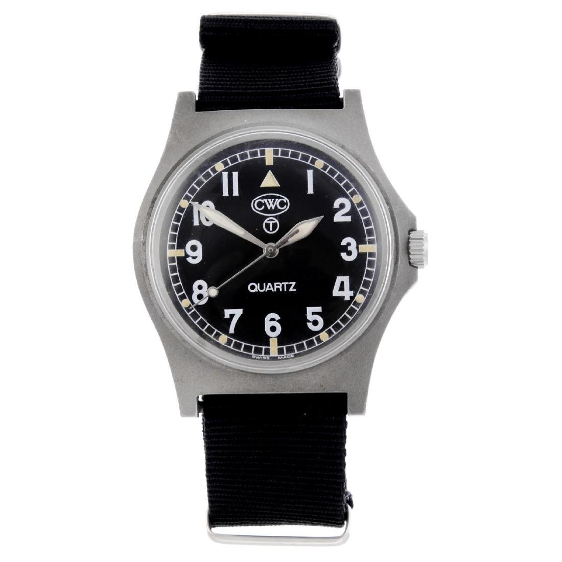 CWC - a military issue wrist watch. Stainless steel
