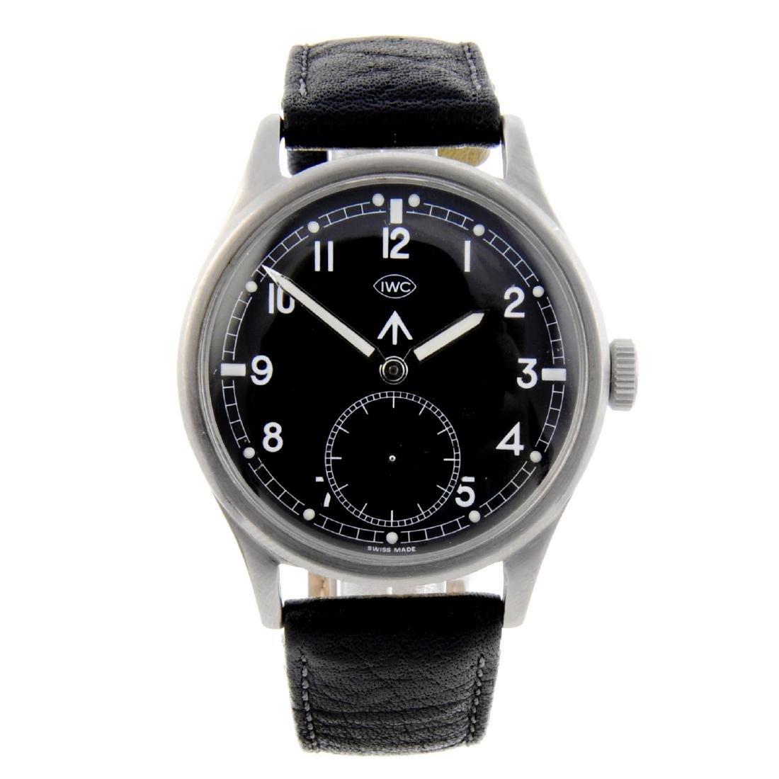 IWC - a gentleman's Mk 10 military issue wrist watch.