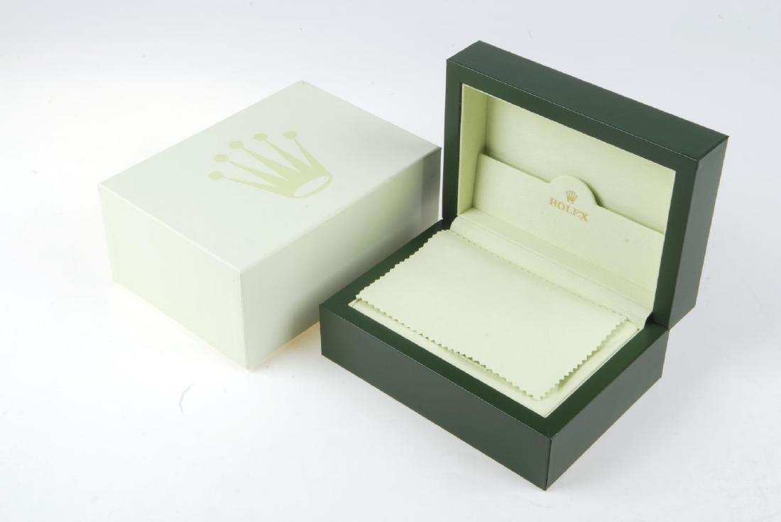 ROLEX - a complete watch box. - 2