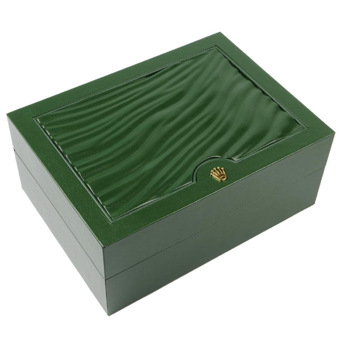 ROLEX - a complete watch box.