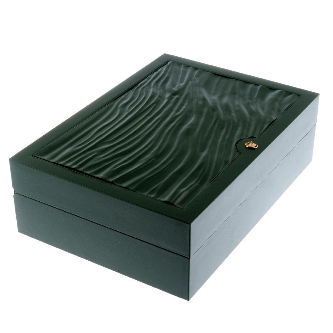 ROLEX - a complete watch box.