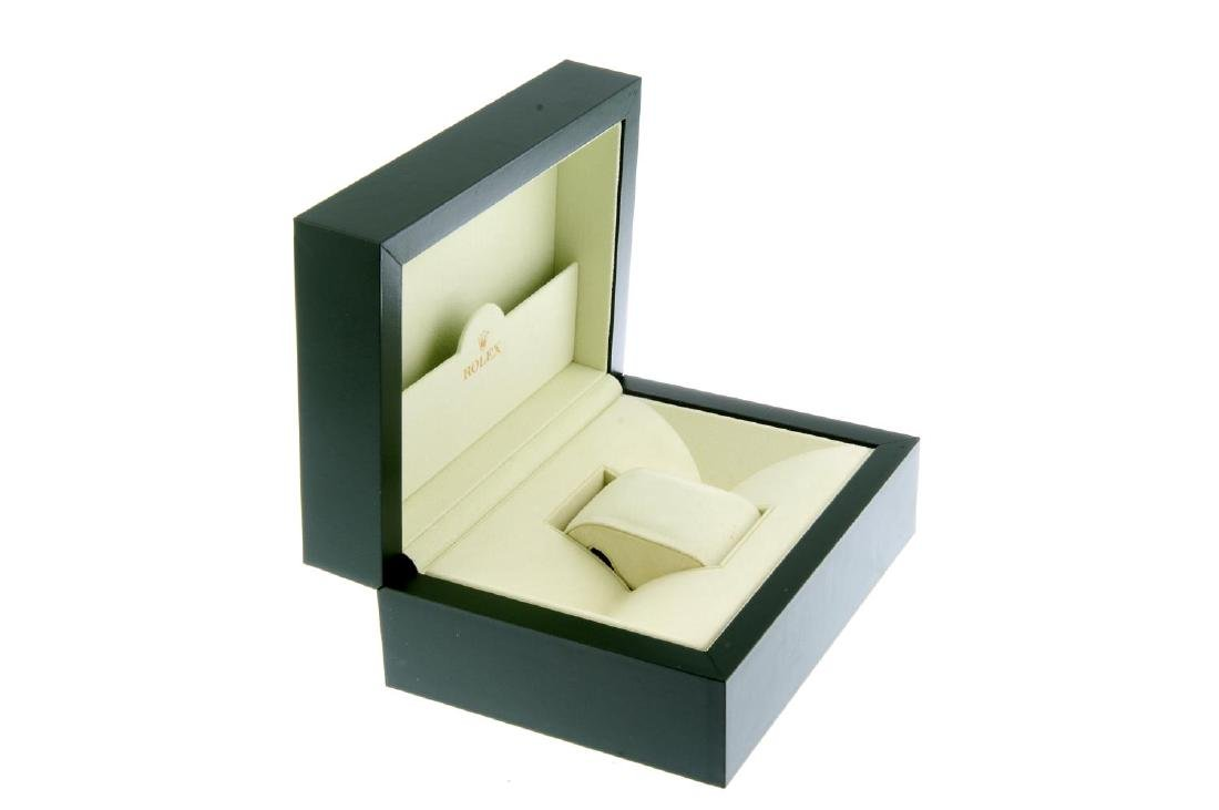 ROLEX - a complete watch box. - 2