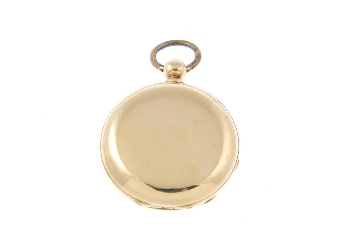 A full hunter five time-zone pocket watch by Neuchatel. - 2