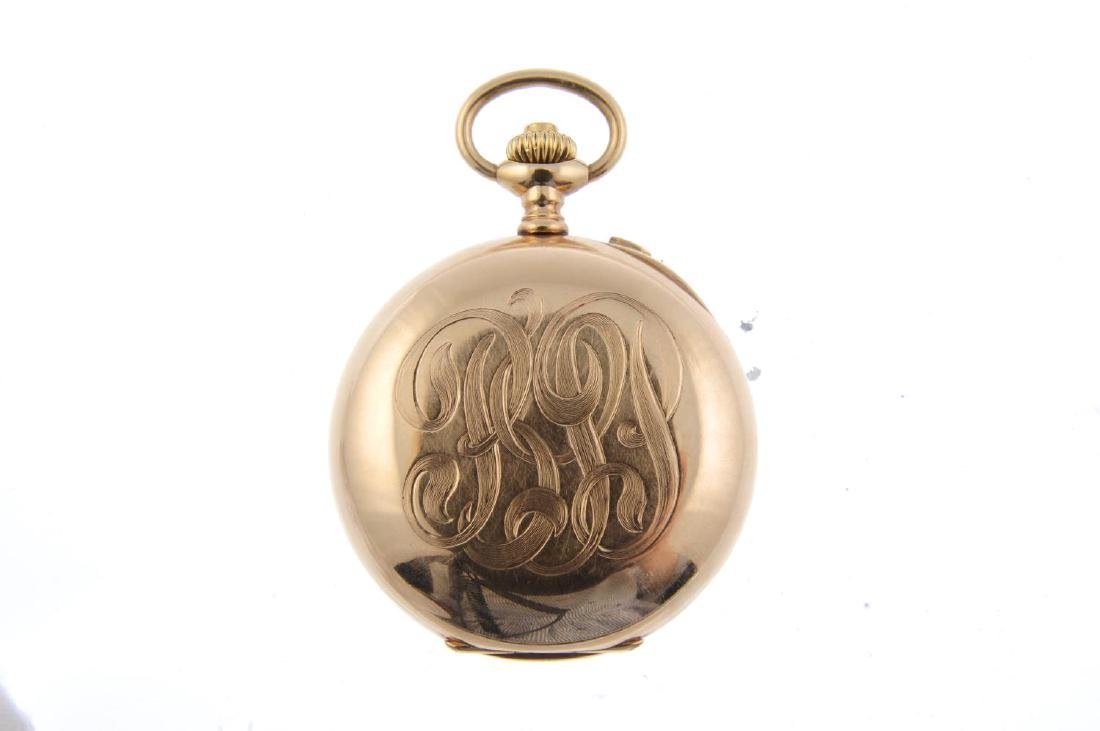 An open face chronograph pocket watch by C.L. Guinand. - 2