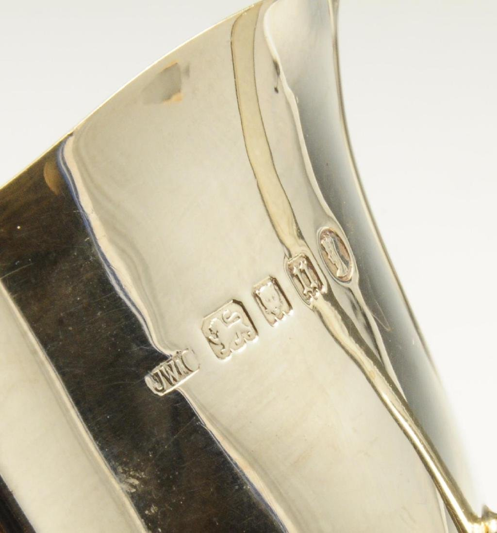 A 1930's silver sauce boat, of plain typical form with - 2