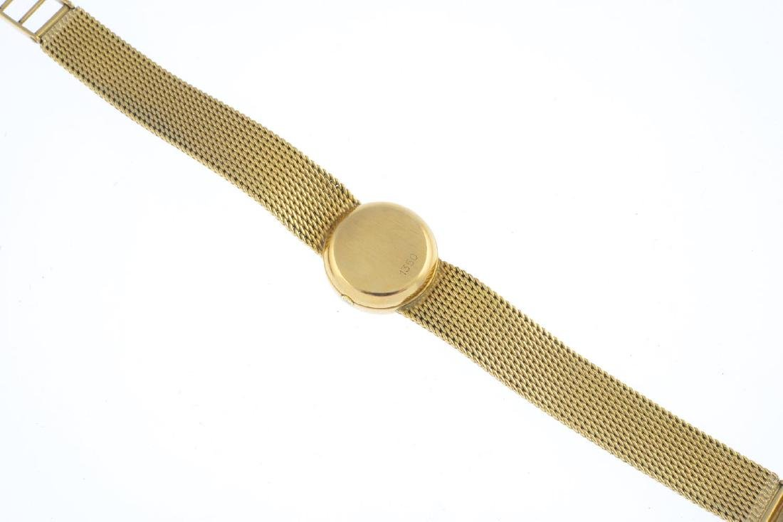 OMEGA - a lady's wrist watch. The circular dial with - 2