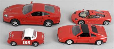 A collection of assorted diecast model vehicles, to