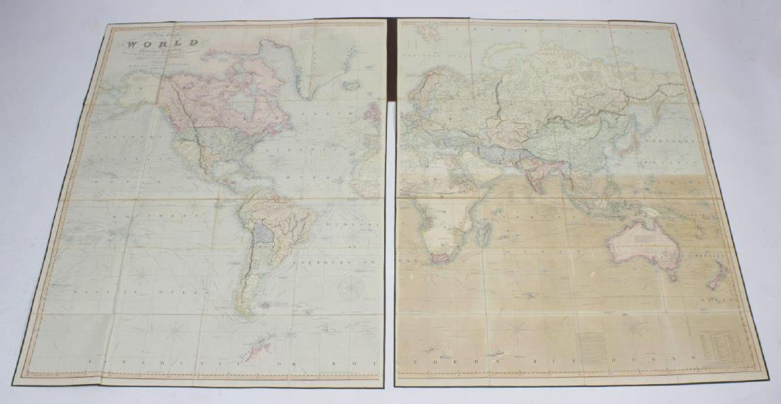 Henry Teesdale, A new chart of the world on Mercator's