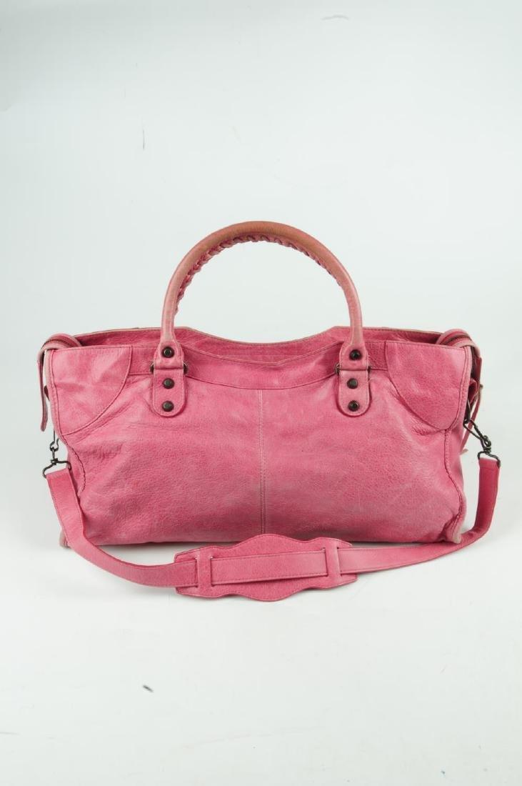 BALENCIAGA - a pink Part-Time handbag. Crafted from - 2