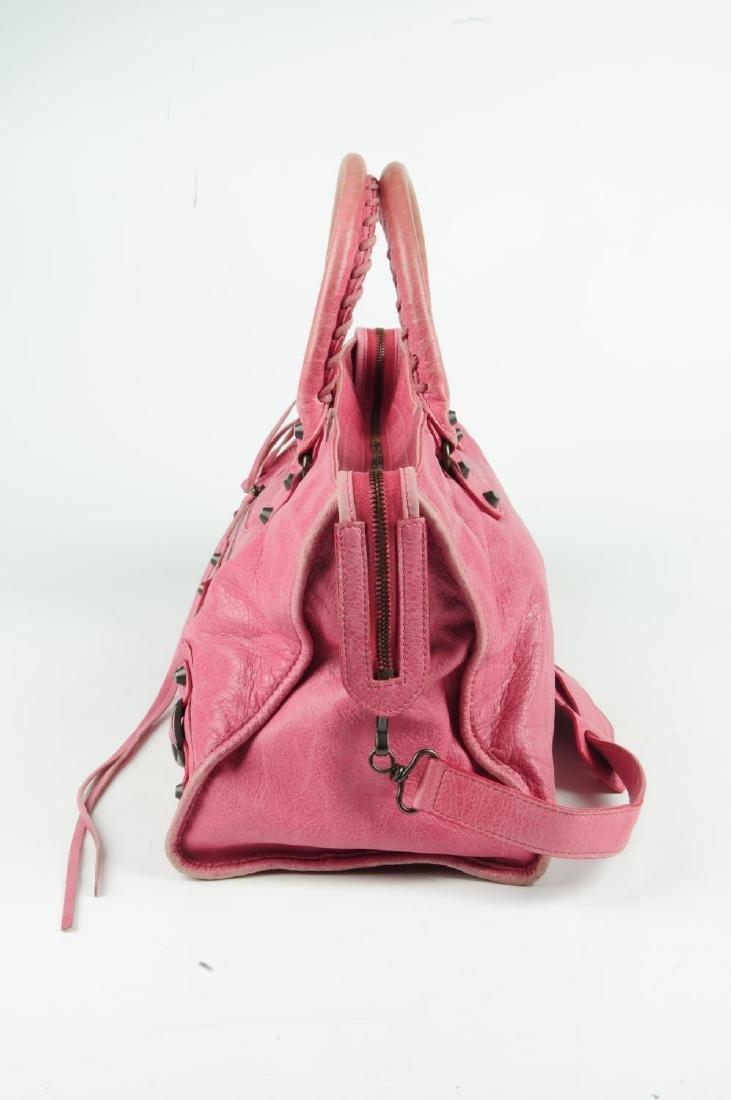 BALENCIAGA - a pink Part-Time handbag. Crafted from - 5