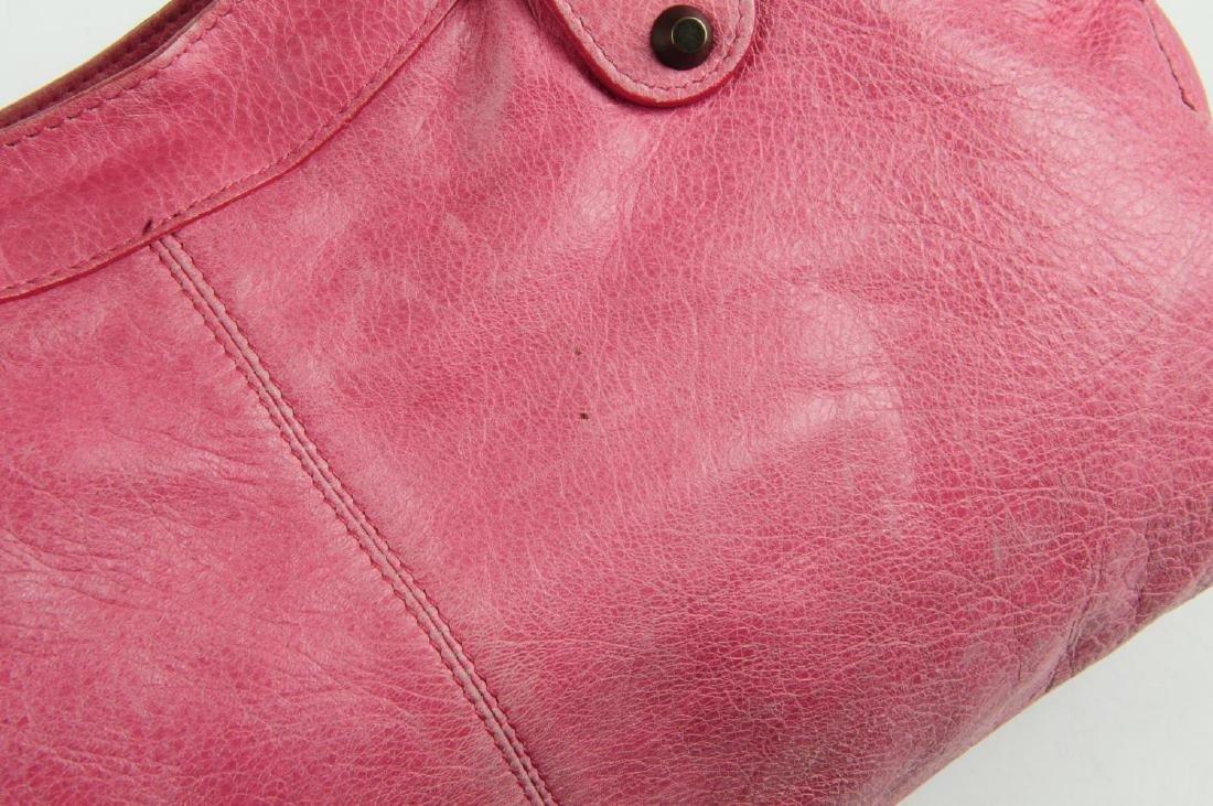 BALENCIAGA - a pink Part-Time handbag. Crafted from - 6