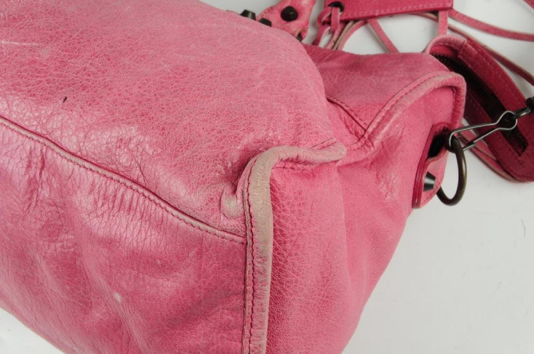 BALENCIAGA - a pink Part-Time handbag. Crafted from - 9