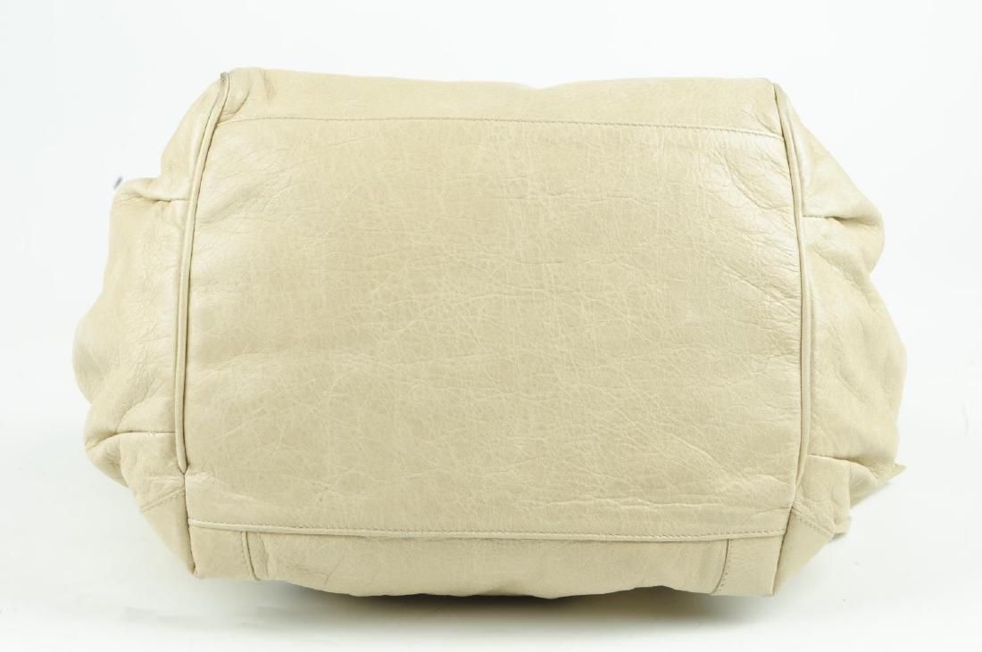 BALENCIAGA - a beige Sunday Tote handbag. Crafted from - 3