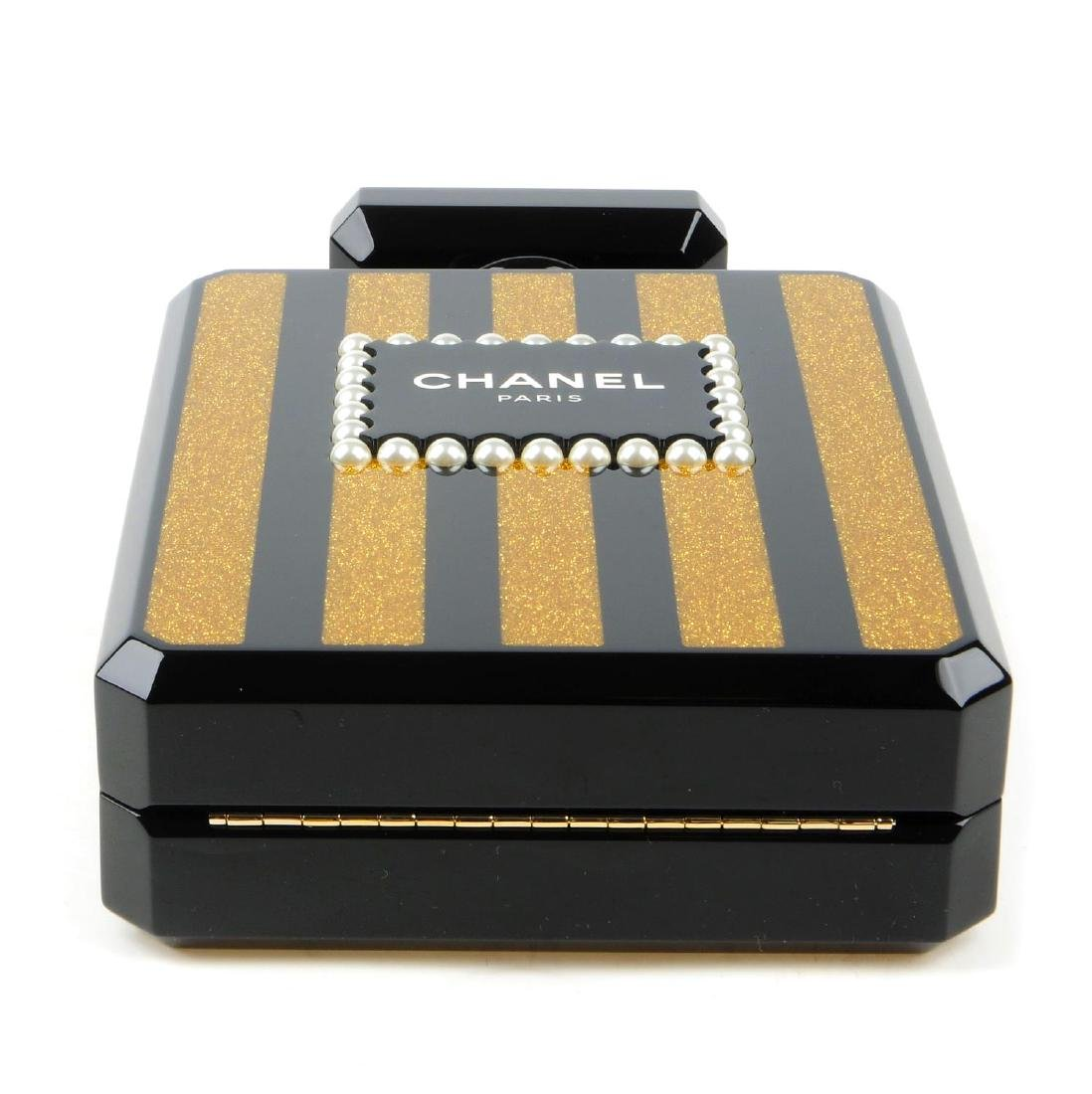 CHANEL - a Perfume Bottle Minaudière handbag. From the - 5