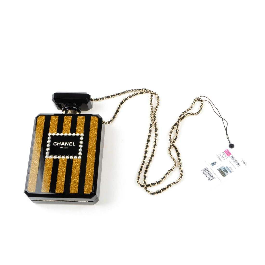 CHANEL - a Perfume Bottle Minaudière handbag. From the - 7