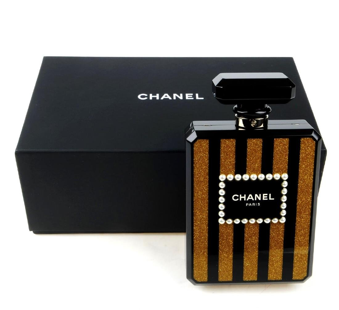 CHANEL - a Perfume Bottle Minaudière handbag. From the - 9