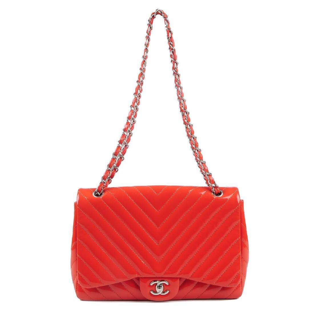 CHANEL - a Jumbo Single Flap handbag. Designed with