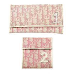 9f5e374b Both of CHRISTIAN DIOR - two Diorissimo Girly wallets. Both of