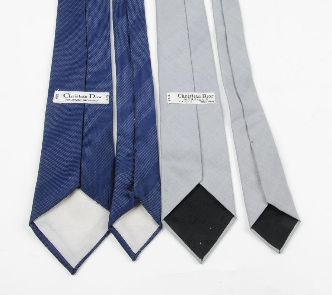 CHRISTIAN DIOR - six ties. To include three ties with - 4