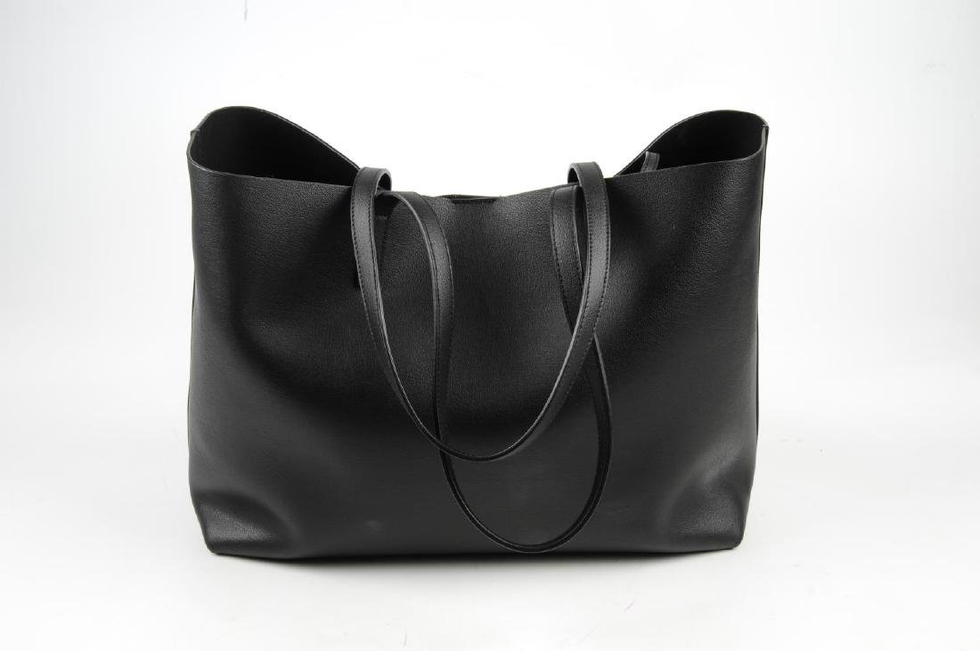 SAINT LAURENT - a leather Shopper handbag. Designed - 2