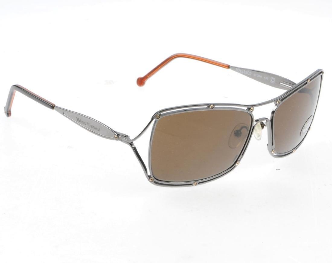 Three pairs of designer sunglasses. To include a pair - 5