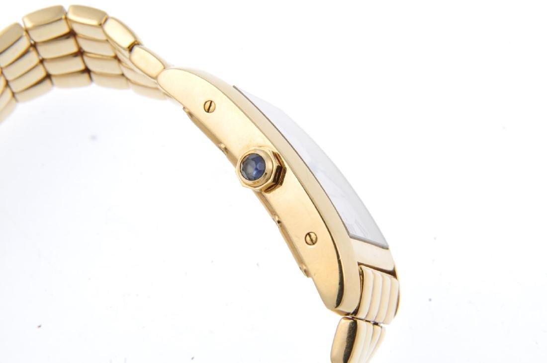 CARTIER - a Tank Américaine bracelet watch. 18ct yellow - 3